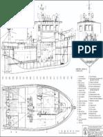 Plano Maqueta de Barco