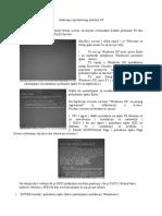 Instaliranje Operativnog Sistema XP