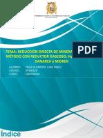 RD Por Método Con Reductor Gaseoso_Presentación