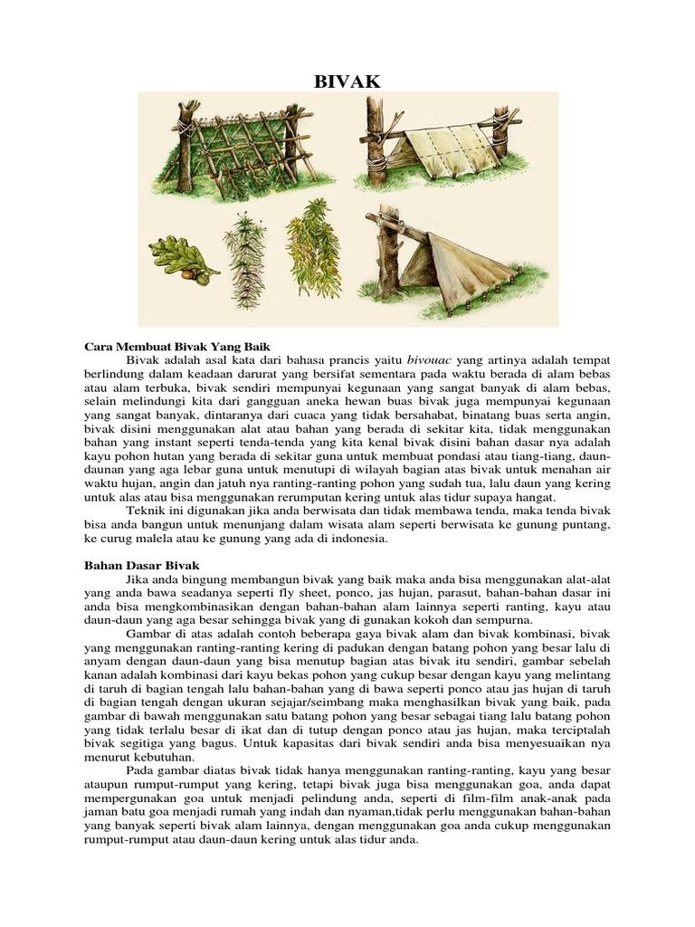 View Cara Membuat Bivak Alam Pics