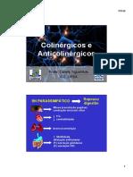 Aula -Colinergicos e Anticolinergicos.ppt