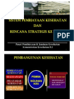 Kebijakan Pembiayaan Kesehatan & Renstra Kedepan_kemenkes Ri 2010