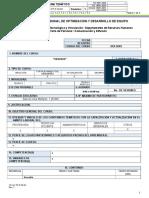 Formato CR GC PP P 02 02 Programa Tematico
