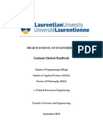 Graduate Student Handbook Sept 2015