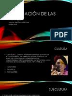Apreciación de Las Artes-CULTURA-