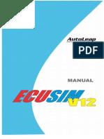 Manual Ecusim v12 3 r2 s