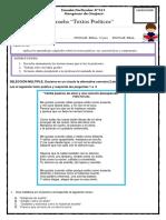 Evaluacion 7 Basico Textos Poeticos