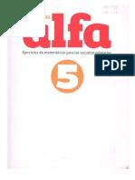 Cuaderno Alfa 5 Esfinge Web