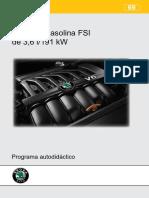 069-Motor de Gasolina 3,6 l - 191 KW - FSI