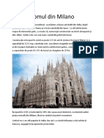 Domul in Milano