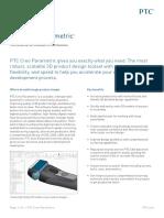PTC Creo Parametric Data Sheet