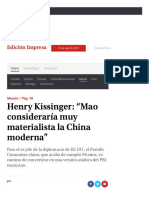 Henry Kissinger Mao