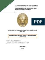 TRABAJO SEPARADORES DE GAS LIQUIDO Y SEPARADORES VERTICALES.docx