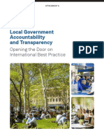 Open Government - Opening the Door on International Best Practice