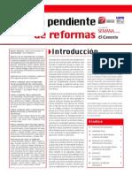 Agenda Pendiente Reformas 2006