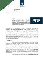 Requerimento da Fenassojaf para majoração da Indenização de Transporte