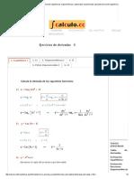 Ejercicios de Derivadas de Funciones Logarítmicas, Trigonométricas y Potenciales Exponenciales Aplicando Derivación Logarítmica