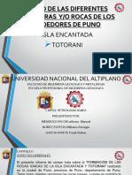 Exposicion de Petrologia Ignea
