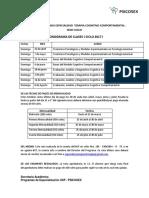 Cronograma Clases Cusco I CicloTCC 2017 (1)