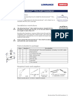 StructureScan Thru-hullTransducer IM en 988-0179-15 a w