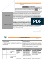 Planeación Semestral Química I