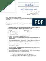 Aj Medical, Mantenimiento Rx Policia Federal