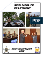 Deerfield Police Department Semi-Annual Report