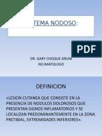 eritemanodoso PRESENTNACION