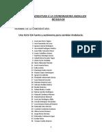 """Candidatura """"Una IULV-CA fuerte y autónoma para cambiar Andalucía"""""""