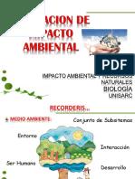 1. Evaluación de Impacto Ambiental