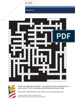 constitution crossword