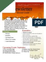 september newsletter  1   renea dean  idlewood elementary