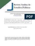 Daniela Vasconcelos-Autoritarismo, Direitos Humanos e Redemocratização-uma Análise Comparativa Da Justiça de Transição No Brasil e Na Argentina.