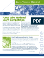 Spring 2009 Flow Information Newsletter, Friends of the Lower Olentangy Watershed