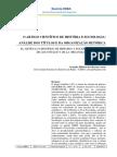 Gerenice Ribeiro de Oliveira Cortes-O  Artigo  Científico de  História e  Sociologia