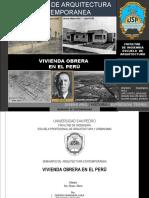 Viviendas Obreras en El Peru