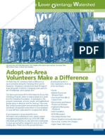 Summer 2009 Flow Information Newsletter, Friends of the Lower Olentangy Watershed