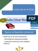El Derecho Comercial en El CCyC