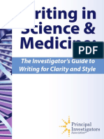 Writing in Science and Medicine Guide Online[1]