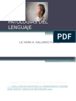 Ptologias Del Lenguaje