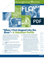 Spring - Summer 2010 Flow Information Newsletter, Friends of the Lower Olentangy Watershed