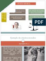 Juicios Morales y Eticos