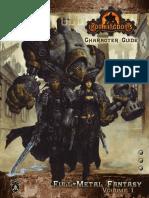 Iron Kingdoms - Full Metall Fantasy Vol1 - Character Guide