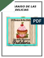 El Paraiso de Las Delicias Nuevo Actual