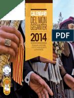 Calendar i Mong e Ganter 2014