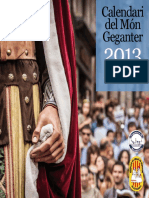 Calendar i Mong e Ganter 2013