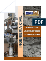 Manual de Laboratorio HORMIGON