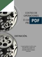 Costos Por Operaciones