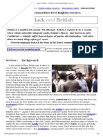 Black and British - Full Feature - Intermediate English Resource