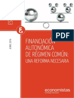 CGE-Estudio Reforma Financiacion Autonomica